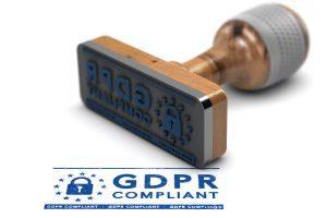 GDPR compliant stamp