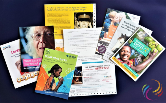 Why direct mail has become vital to charities: charity leaflets